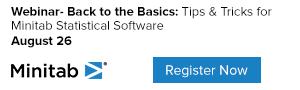 Minitab Statistical Software, Back to Basics