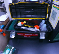 Figure 1: Current-State Mill Rescue Box