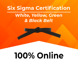 Get Six Sigma Trained & Certified