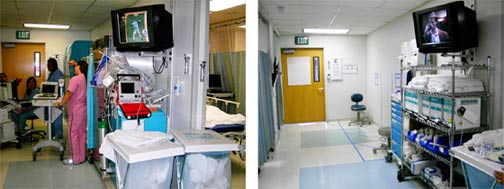 Figure 3: RME Hallway Before and After Kaizen Event